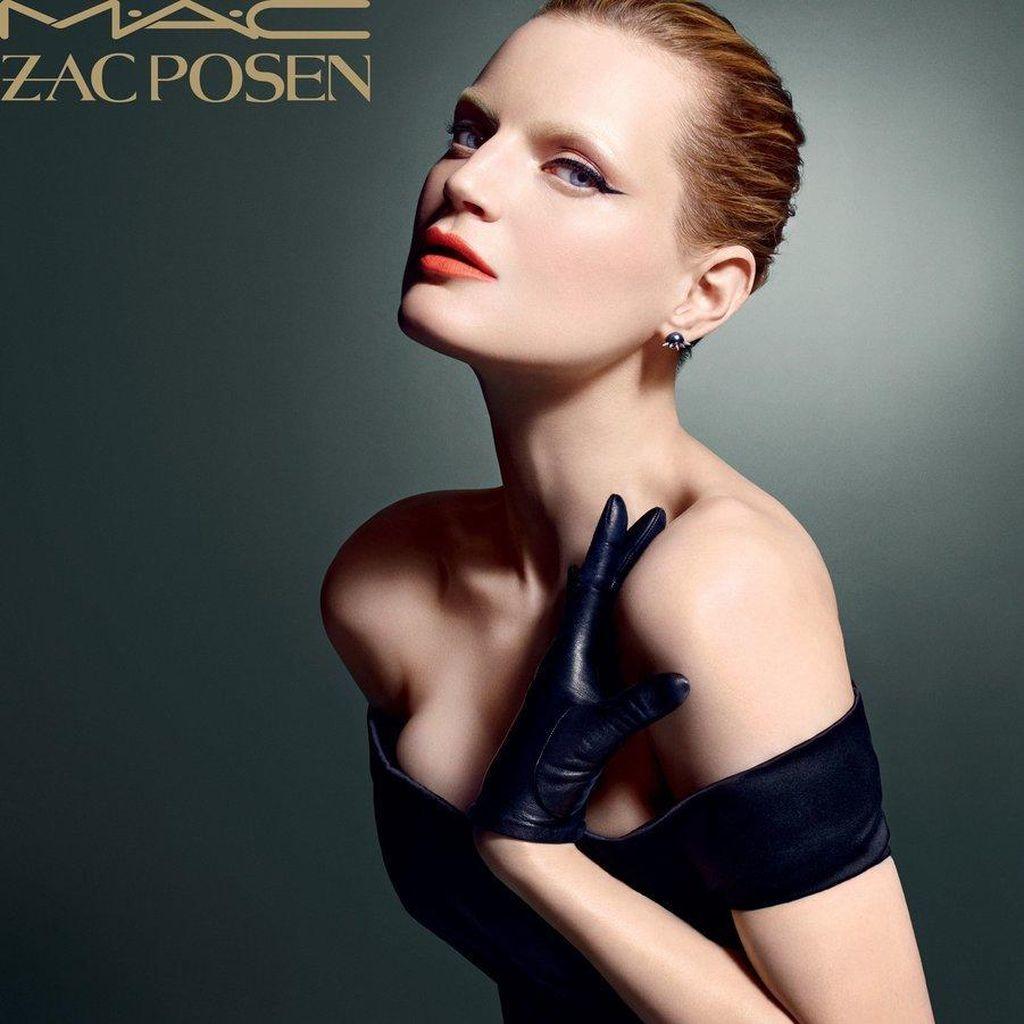 MAC Kolaborasi dengan Desainer Zac Posen Rilis Makeup Terbaru