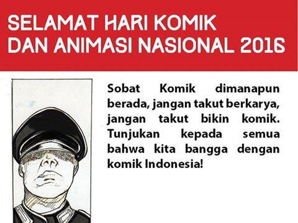 Selamat Hari Komik dan Animasi Nasional 12 Februari!