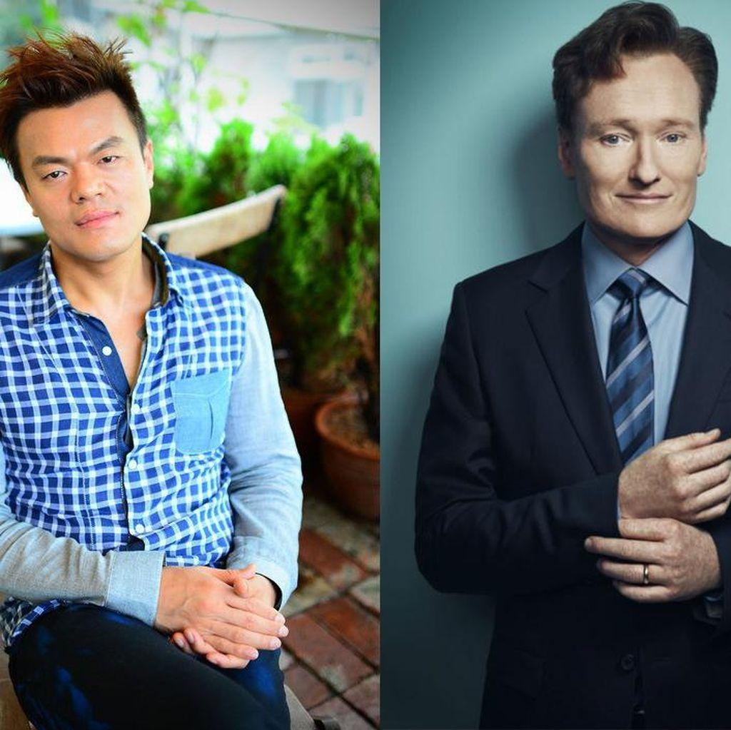Park Jin Young dan Conan OBrien Siapkan Proyek Spesial di Korea
