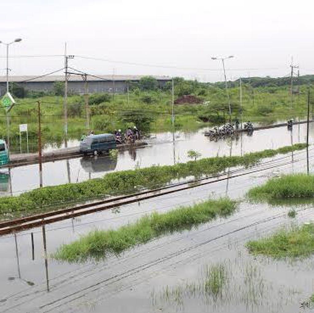 BPLS Siapkan 12 Pompa Sedot Banjir Porong