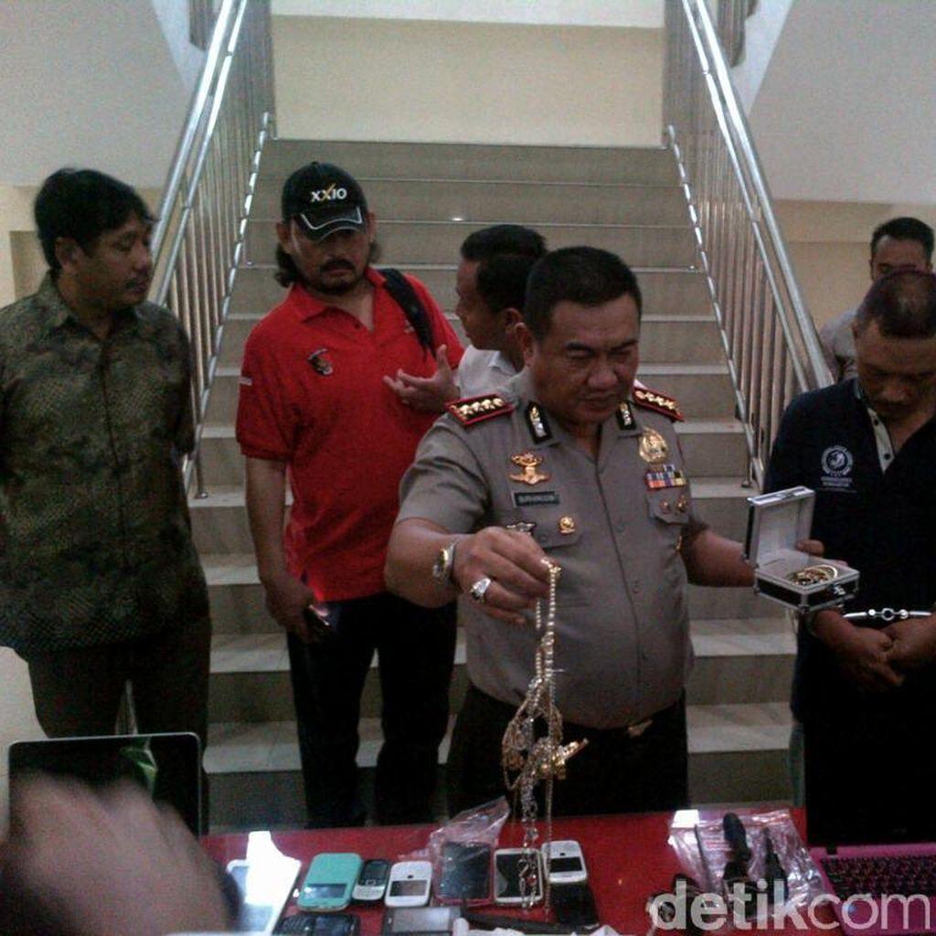 Berbekal Linggis, Kepala Dusun ini Mencuri di 30 Lokasi