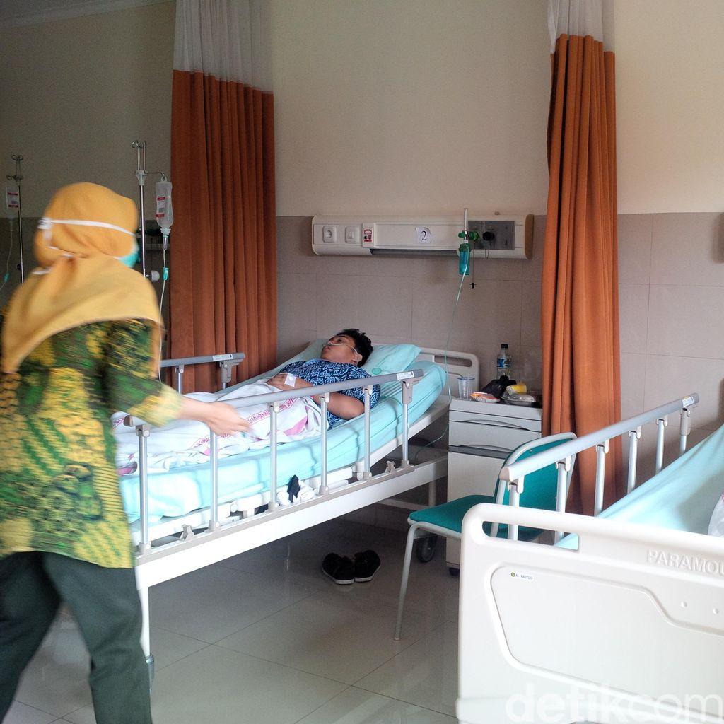 53 Santri di Yogya Dilarikan ke Rumah Sakit karena Keracunan