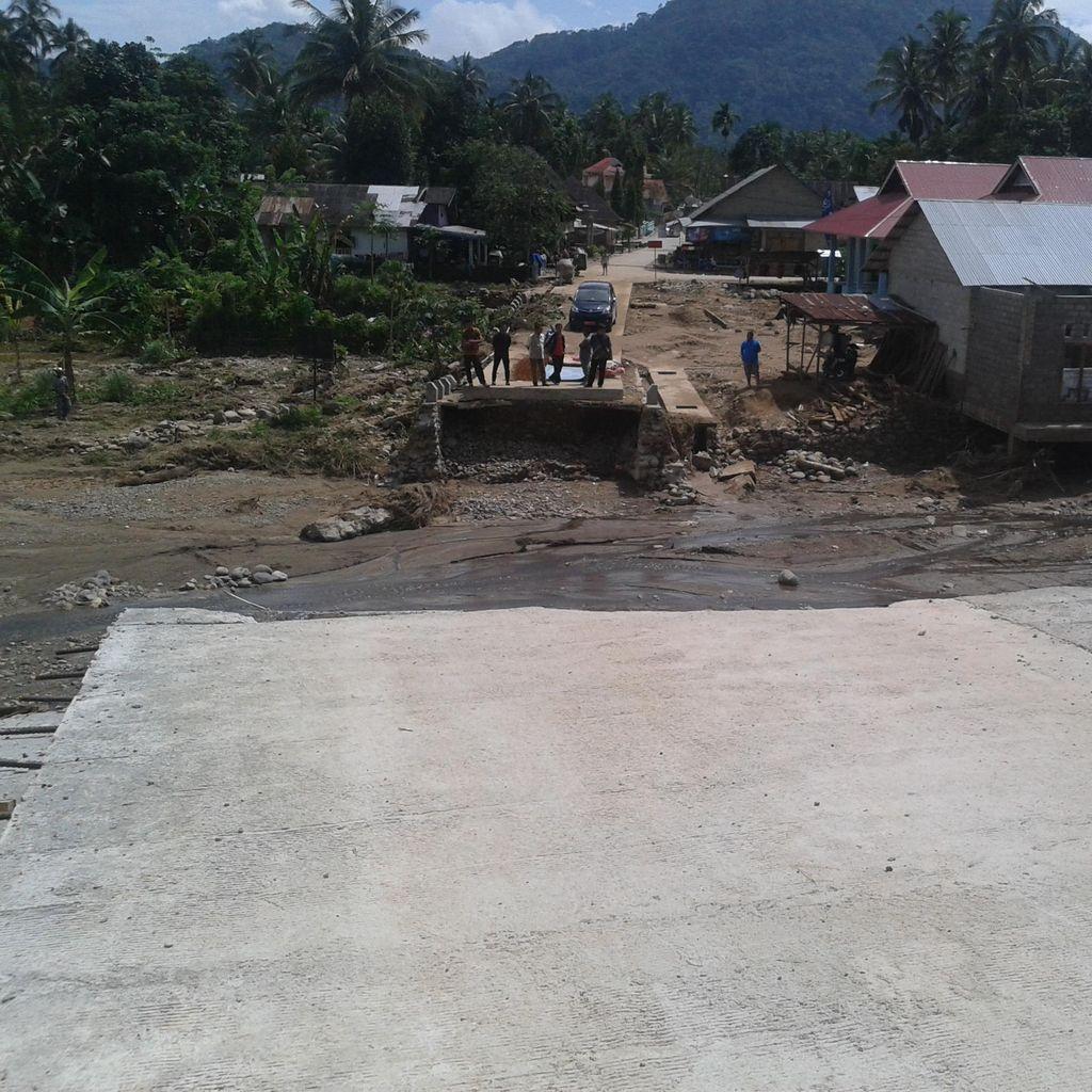 Sangka Baik Korban di Sisa Bencana Longsor Solok Selatan