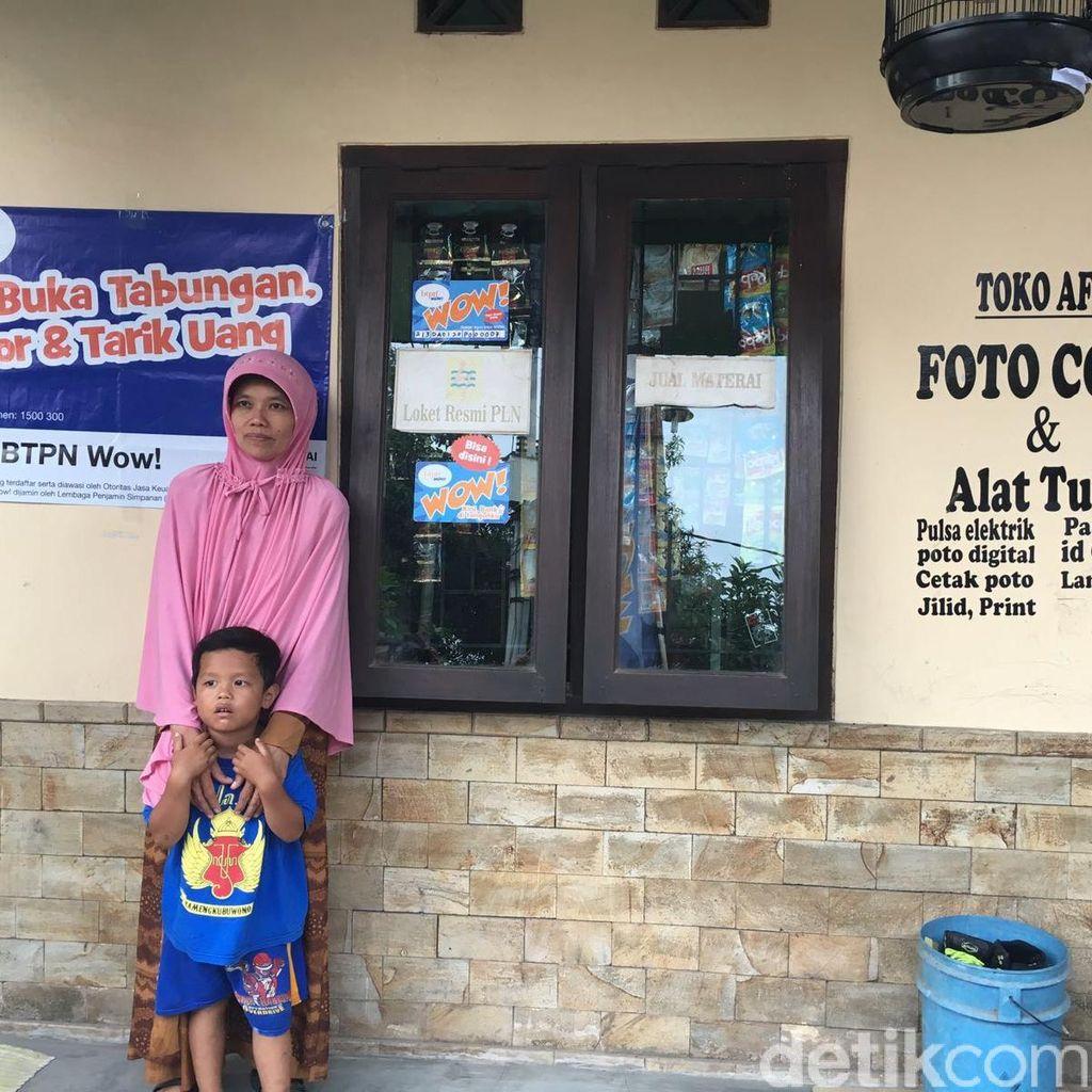 Cerita Mimin, Ibu Rumah Tangga yang Jadi Agen Laku Pandai