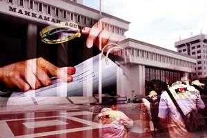 Suap Rp 400 Juta Pejabat MA
