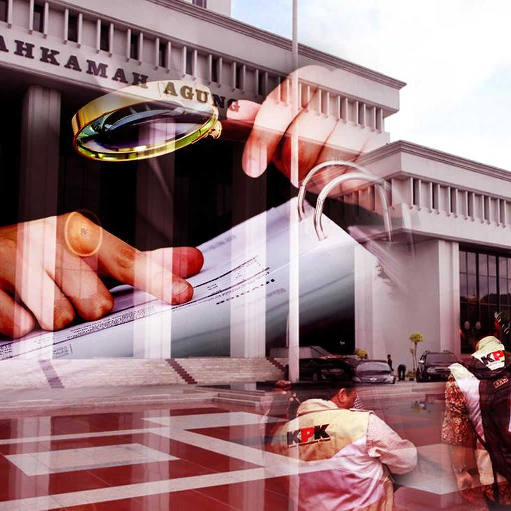 KPK Tahan Pejabat MA, Pengacara, dan Pengusaha di 3 Rutan Berbeda