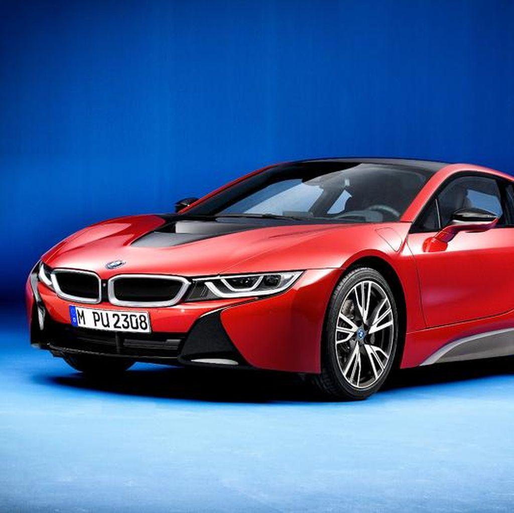 BMW i8 Protonic Red Edition Siap Diperkenalkan