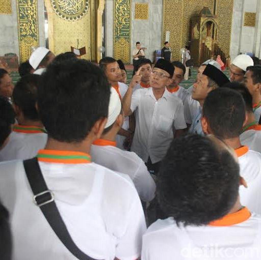 Dewan Masjid Latih Teknisi Sound System Pengeras Suara Masjid