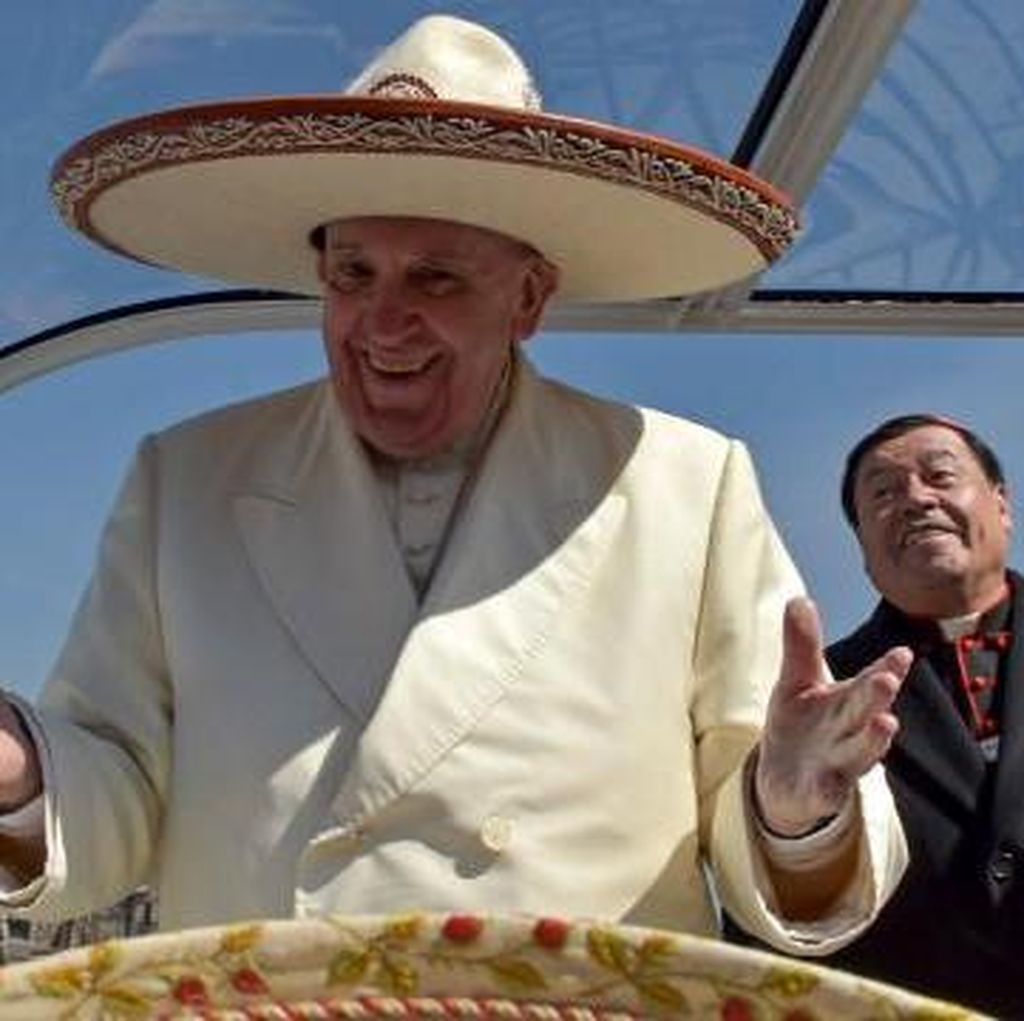 Paus Kecam Kanker Narkoba di Meksiko