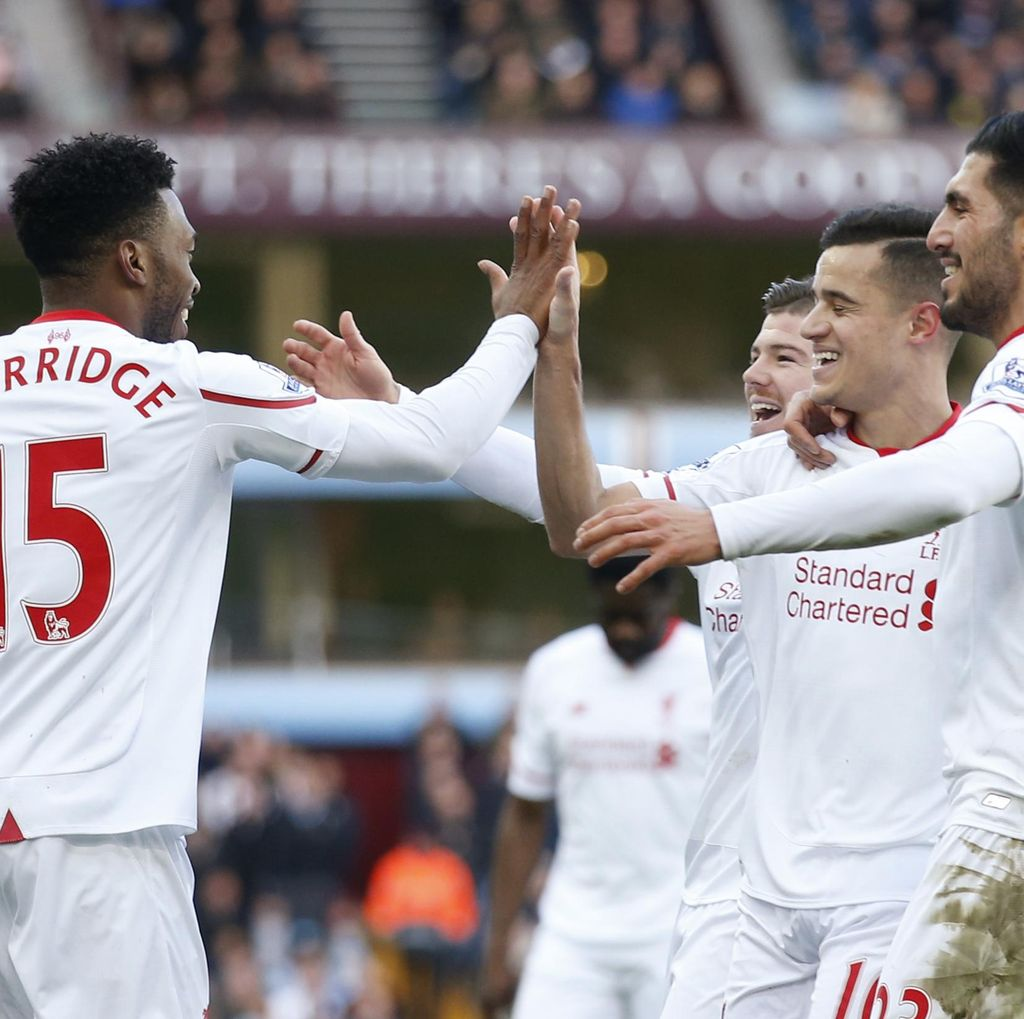 Liverpool Lumat Villa 6-0