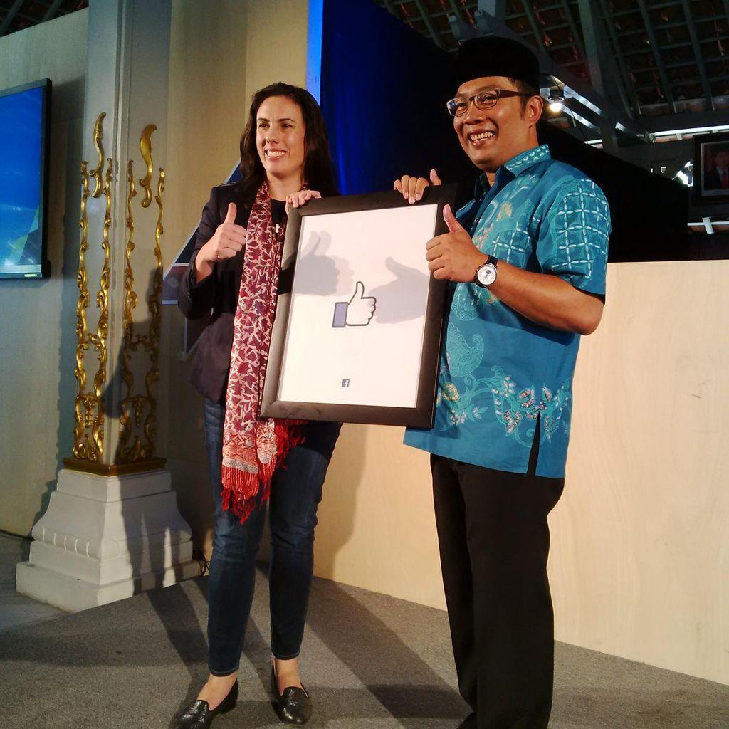 Mimpi Ridwan Kamil UKM Bandung Go Internasional Lewat Facebook