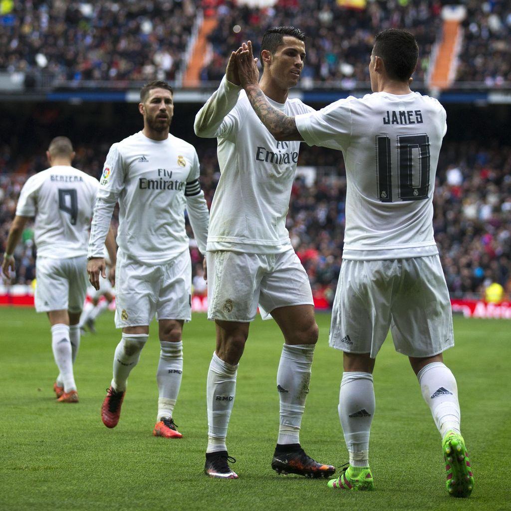 Ronaldo Dua Gol, Madrid Hantam Bilbao 4-2