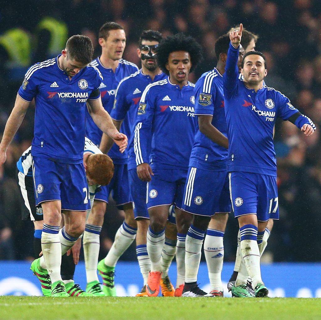 Chelsea Gilas Newcastle 5-1