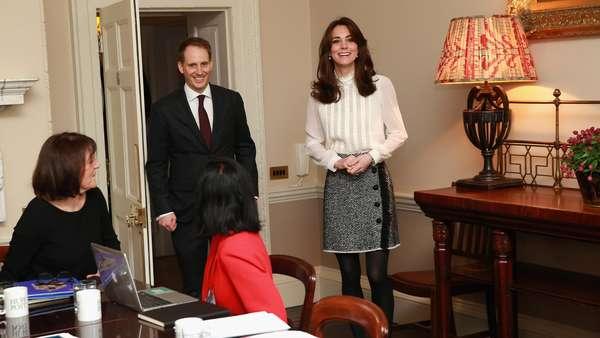 Ketika Kate Middleton Jadi Editor Media