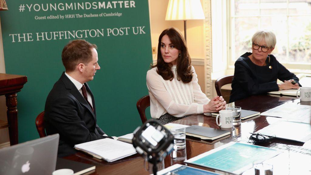 Jajal Jadi Jurnalis, Kate Middleton Tulis Soal Penyakit Mental Anak