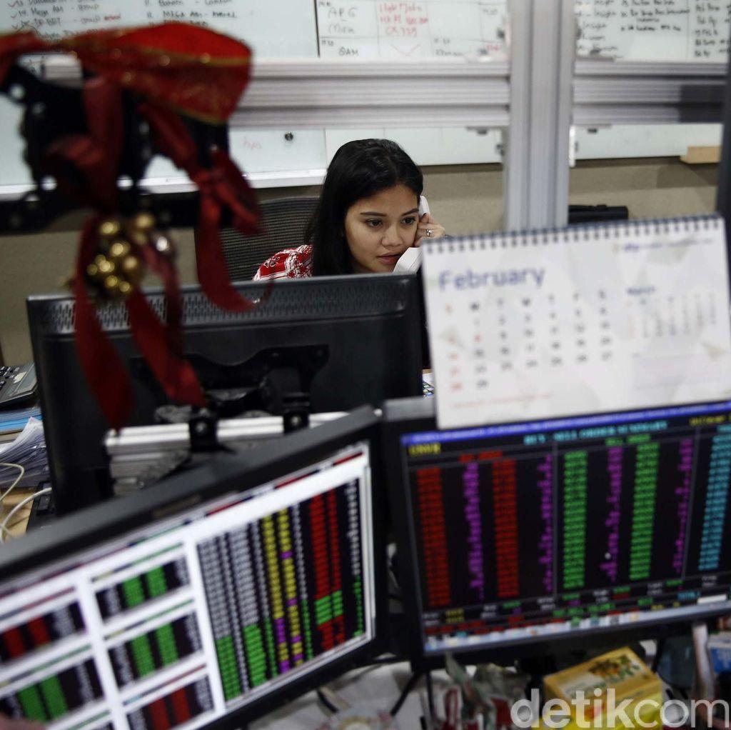 Ekonomi RI Melambat, IHSG Jatuh 41 Poin