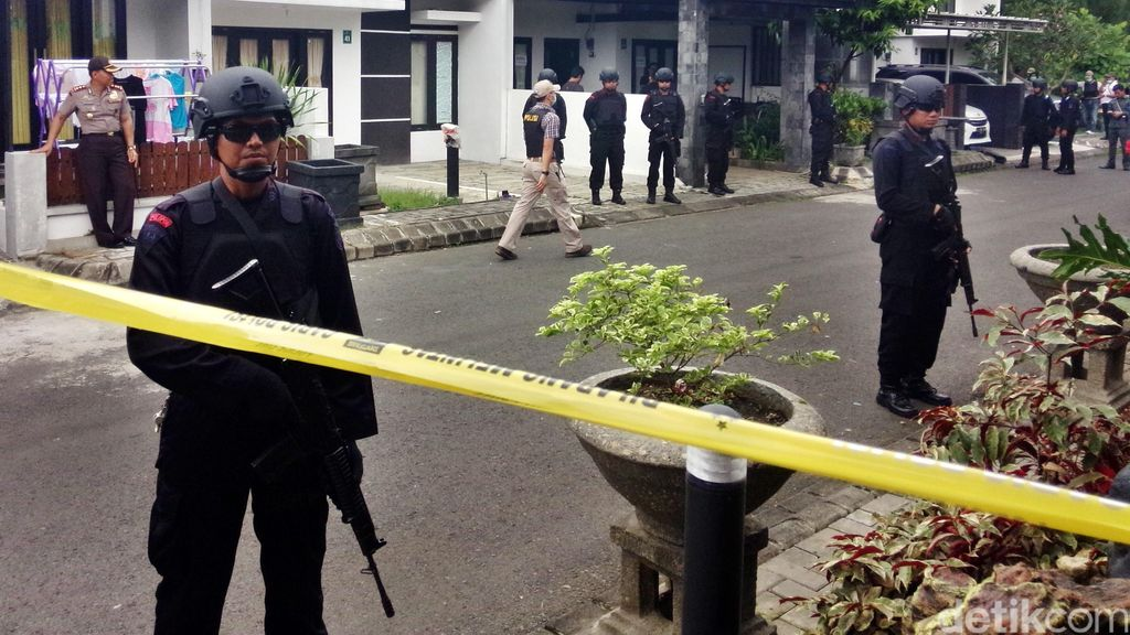 Pasca Bom Thamrin, Densus 88 Telah Tangkap 40 Teroris