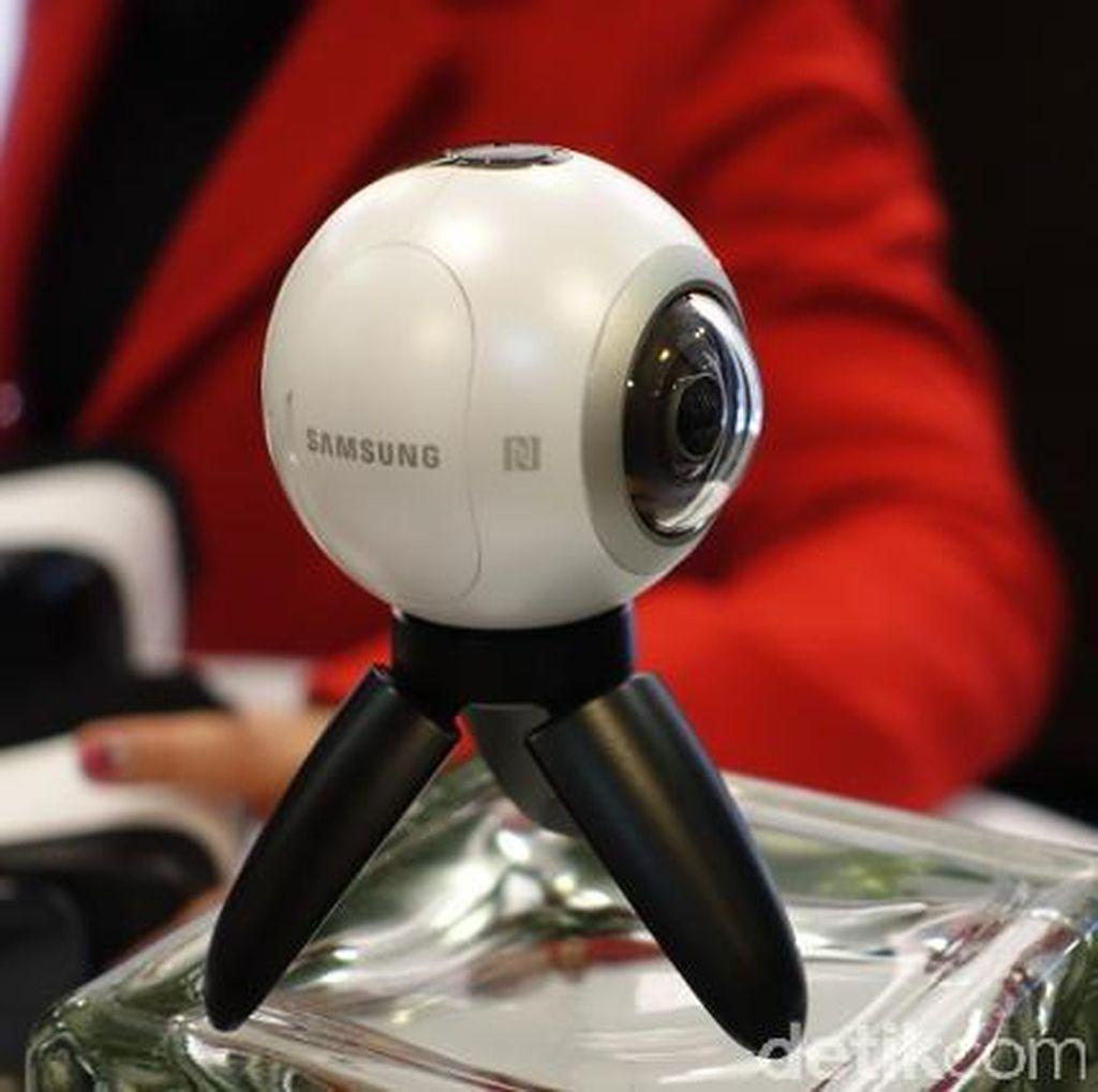 Samsung Gear 360 Dilepas Rp 4,6 Juta