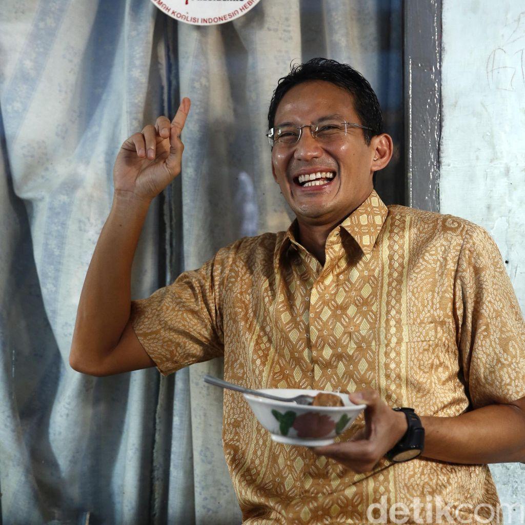Head to Head Ahok Lawan Sandiaga Uno dari Kacamata Survei
