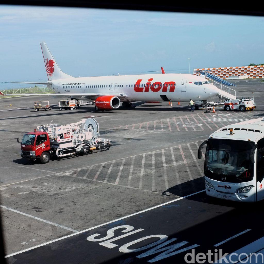 Pesawat Lion Air Senggolan di Cengkareng, ini Penjelasan AirNav