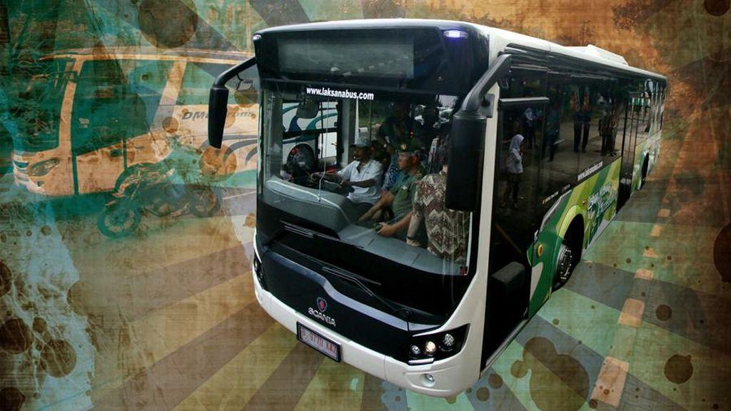 Belum Sampai Tujuan, Penumpang Bus Sahabat Dioper ke Bus yang Penuh