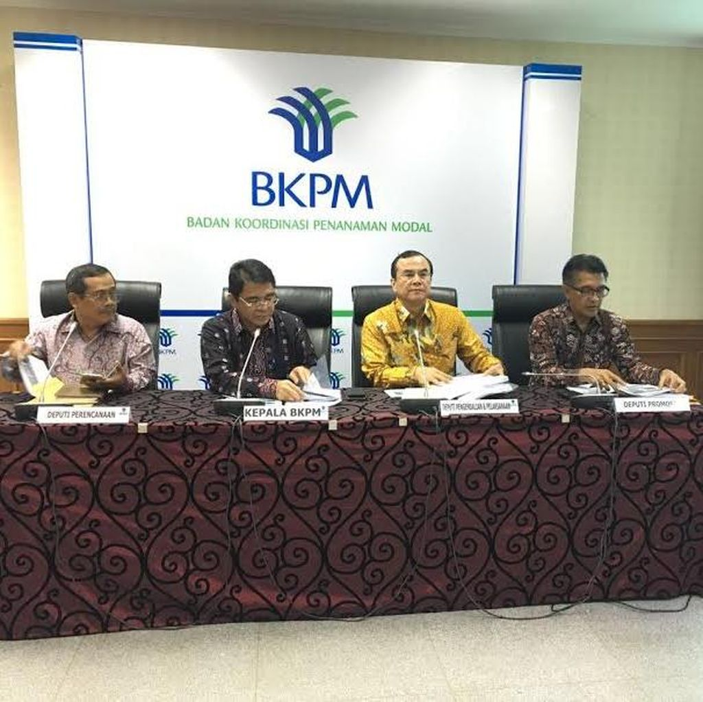 31 Proyek Rp 55,5 Triliun Gunakan Layanan Kemudahan Investasi BKPM
