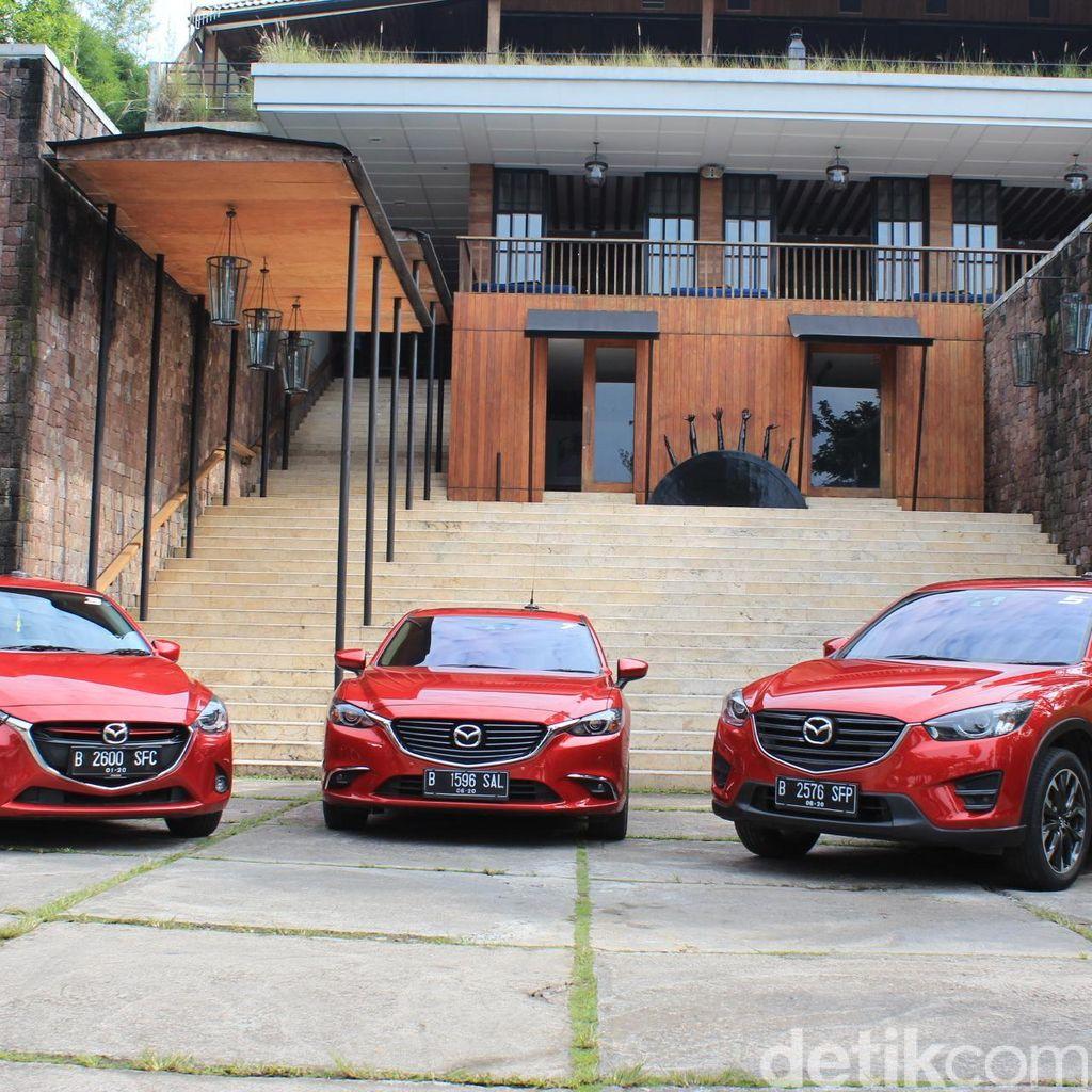 Mazda Indonesia Rebutan Unit dengan Mazda Negara Lain