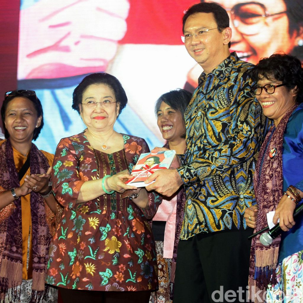 Ahok Sebut Namanya Ikut Diusulkan DPP PDIP ke Megawati
