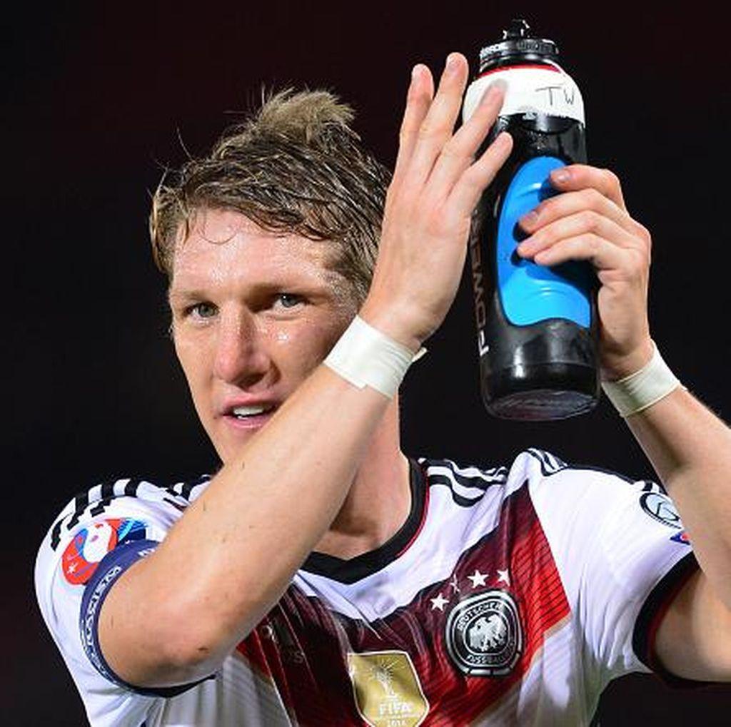 Schweinsteiger Optimistis Fit Tepat Waktu untuk Piala Eropa