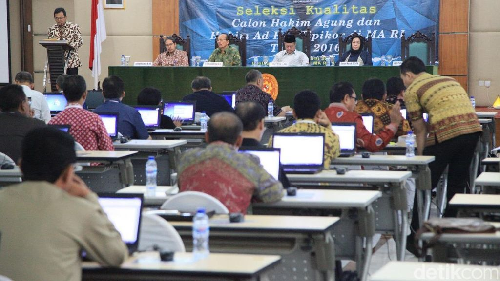 Di DPR, KY Paparkan Strategi Seleksi Job Seeker Pembidik Kursi Hakim Agung