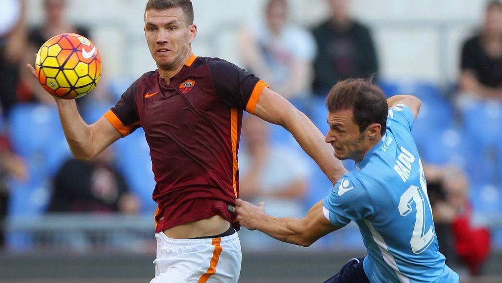 Dzeko Diminati Inter, Agen: Dia Tetap di Roma Musim Depan