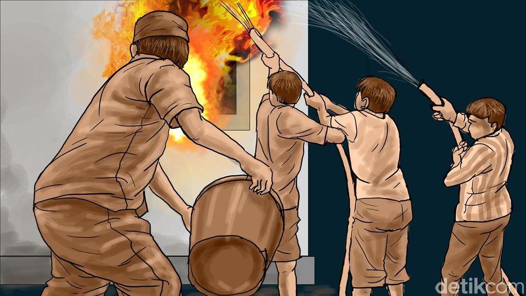 4 Jenazah Korban Kebakaran di Lippo Karawaci Akan Dibawa ke RSUD Tangerang