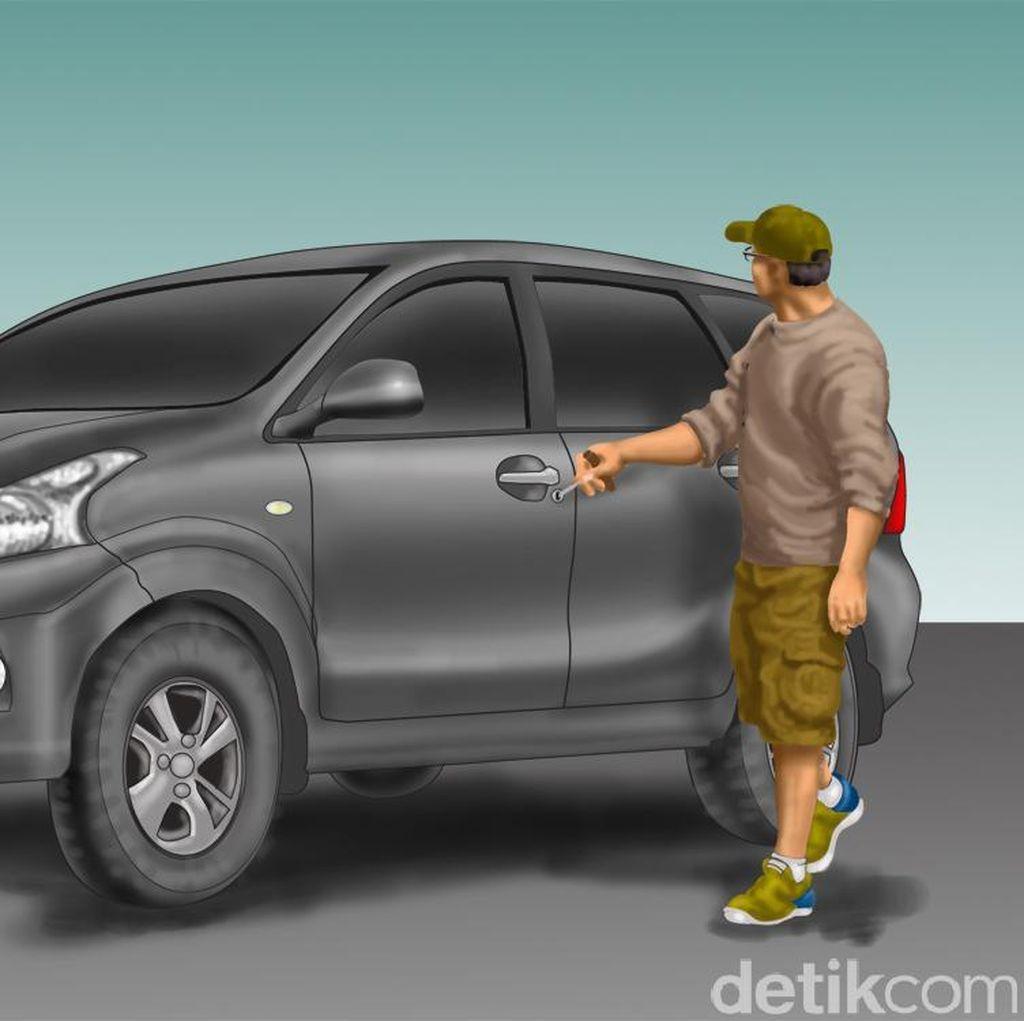 Pencuri Pecahkan Kaca Avanza Lalu Ambil Uang Rp 50 Juta di Dalam Mobil