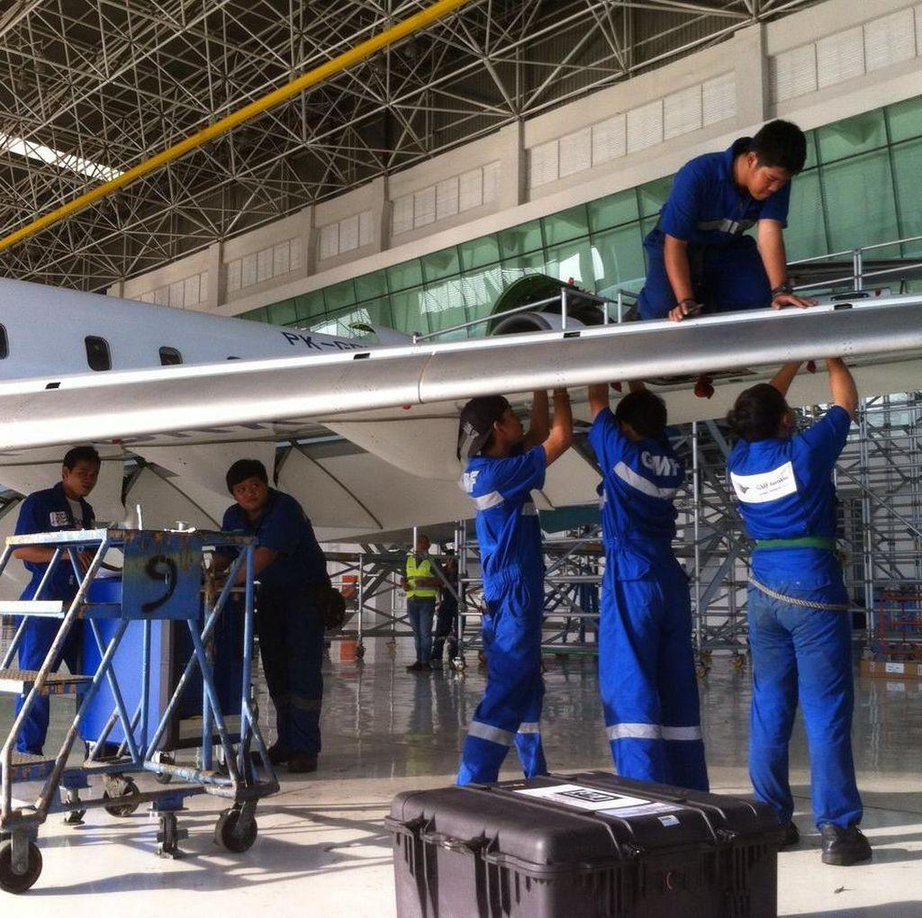 Setiap Tahun, Garuda Indonesia Butuh 400 Teknisi Pesawat