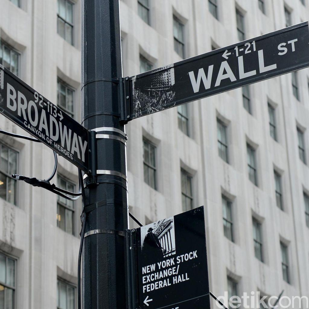 Wall Street Istirahat Setelah 2 Hari Naik