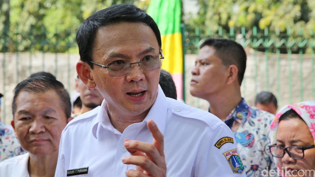 Ahok: Pompa Waduk Pluit Mati Empat, Jakarta Bisa Tenggelam