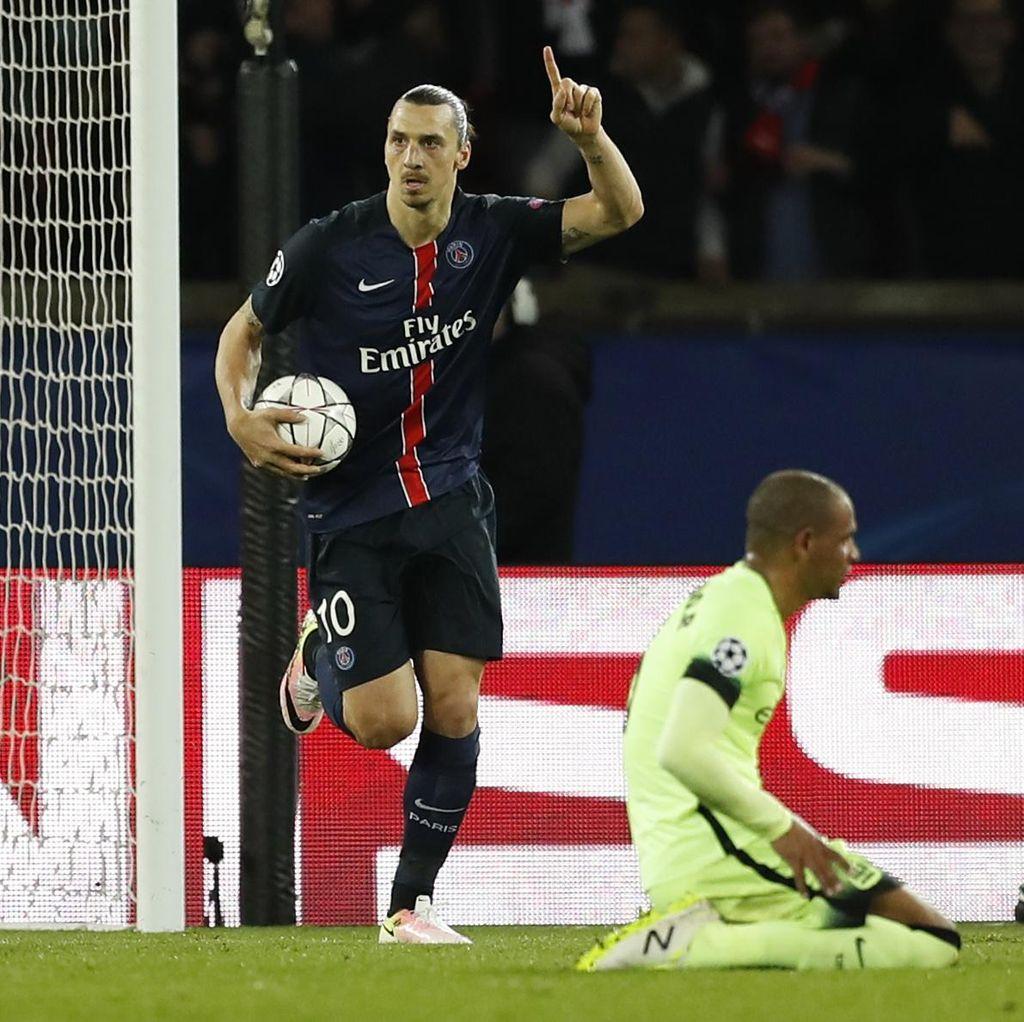 Ditandai Its #ZlatanTime, Ibrahimovic Resmi Diikat MU