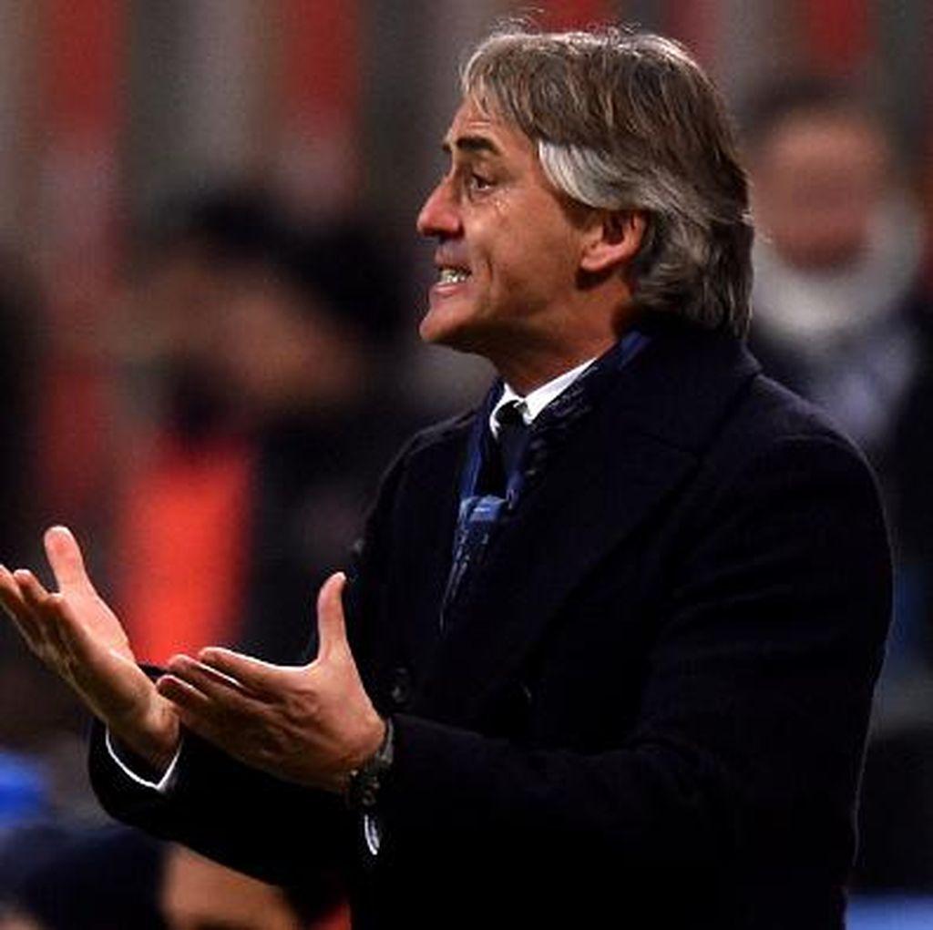 Soal Masa Depan di Inter, Mancini: Kita Tunggu Saja