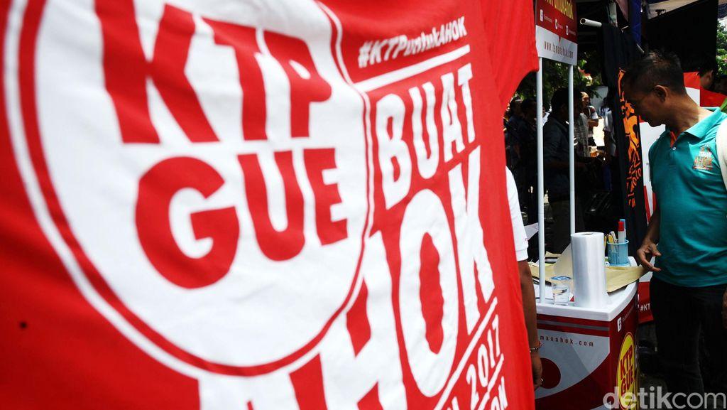 PDIP-Gerindra Koalisi Hadapi Pilgub DKI, Teman Ahok Fokus Kumpulkan KTP