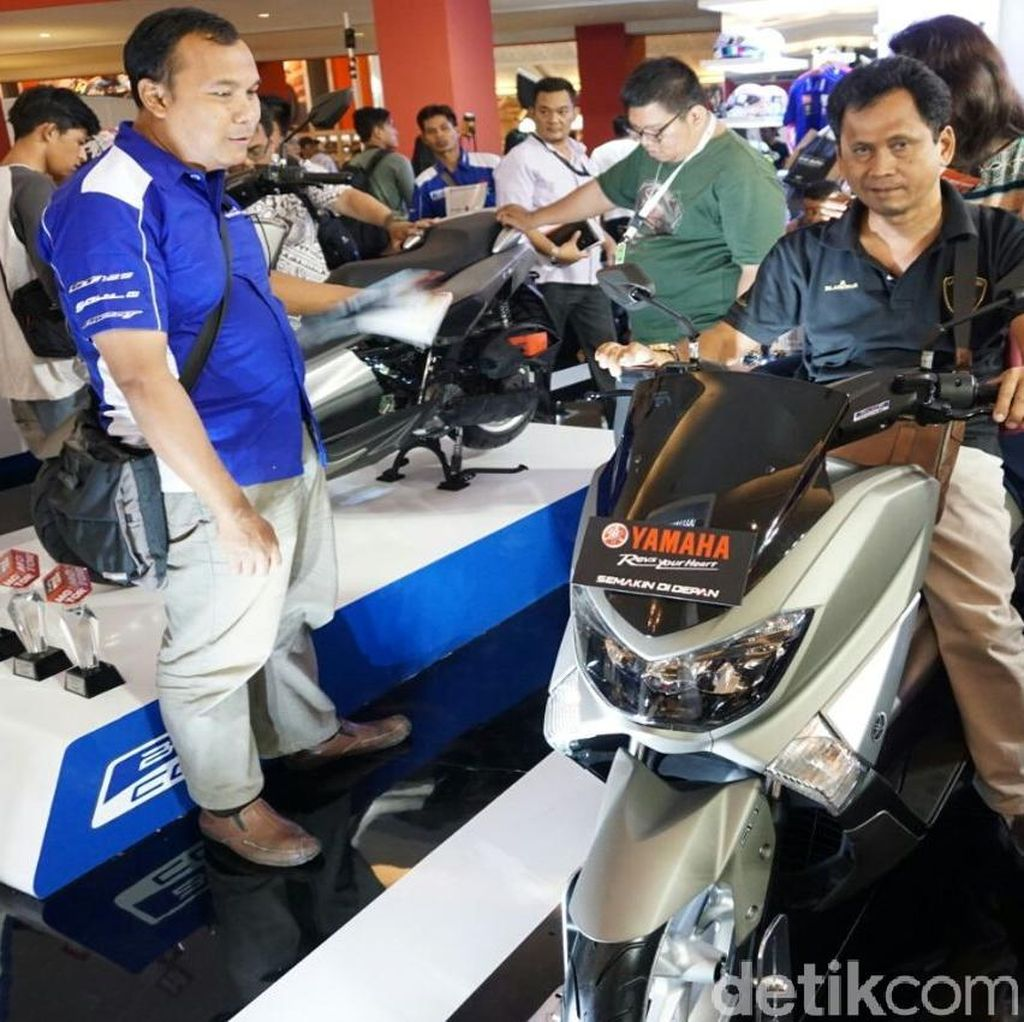 Kredit Motor Yamaha NMAX Naik Terus