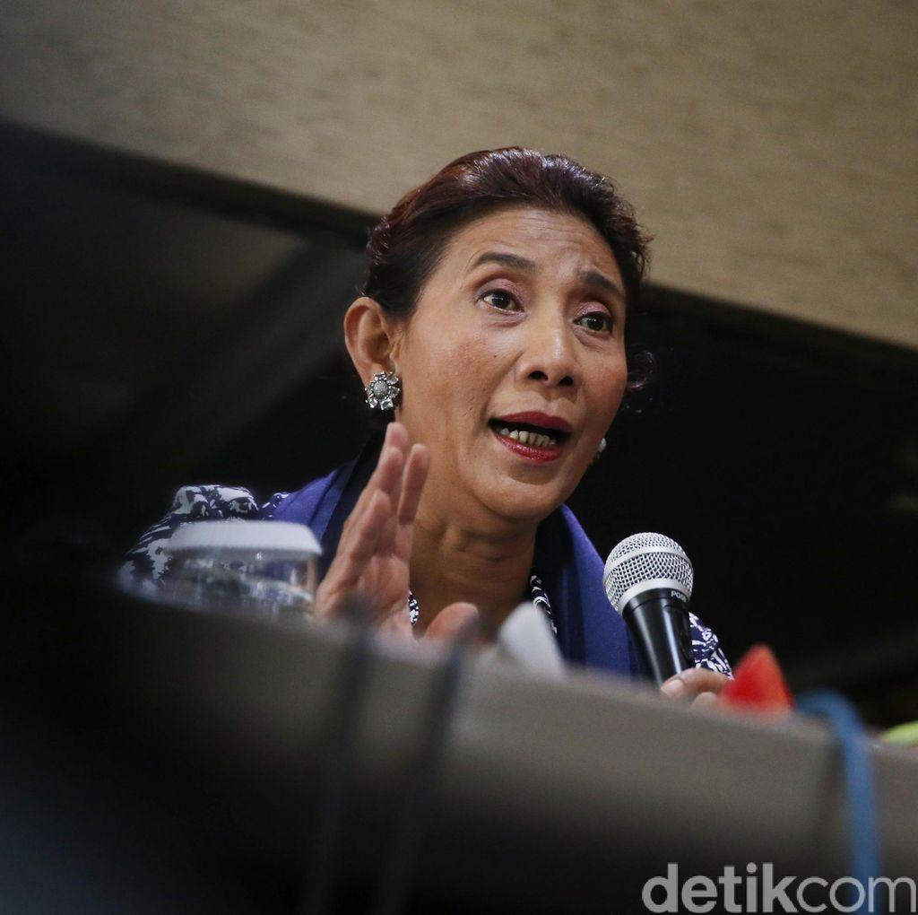 Menteri Susi: Persoalan Illegal Fishing di Natuna Belum Selesai