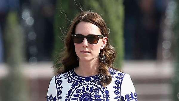 Gaya Busana Kate Middleton di Bhutan
