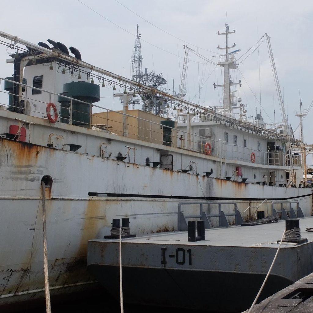 Mungkinkah Kapal Buronan Argentina Hua Li 8 Diledakkan di Indonesia?