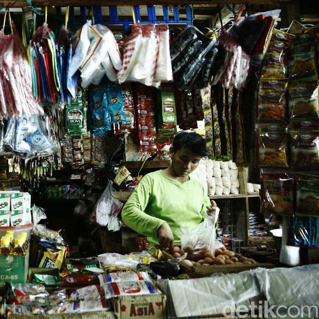 Begini Pandangan Jokowi Soal Pasar Tradisional dan Modern