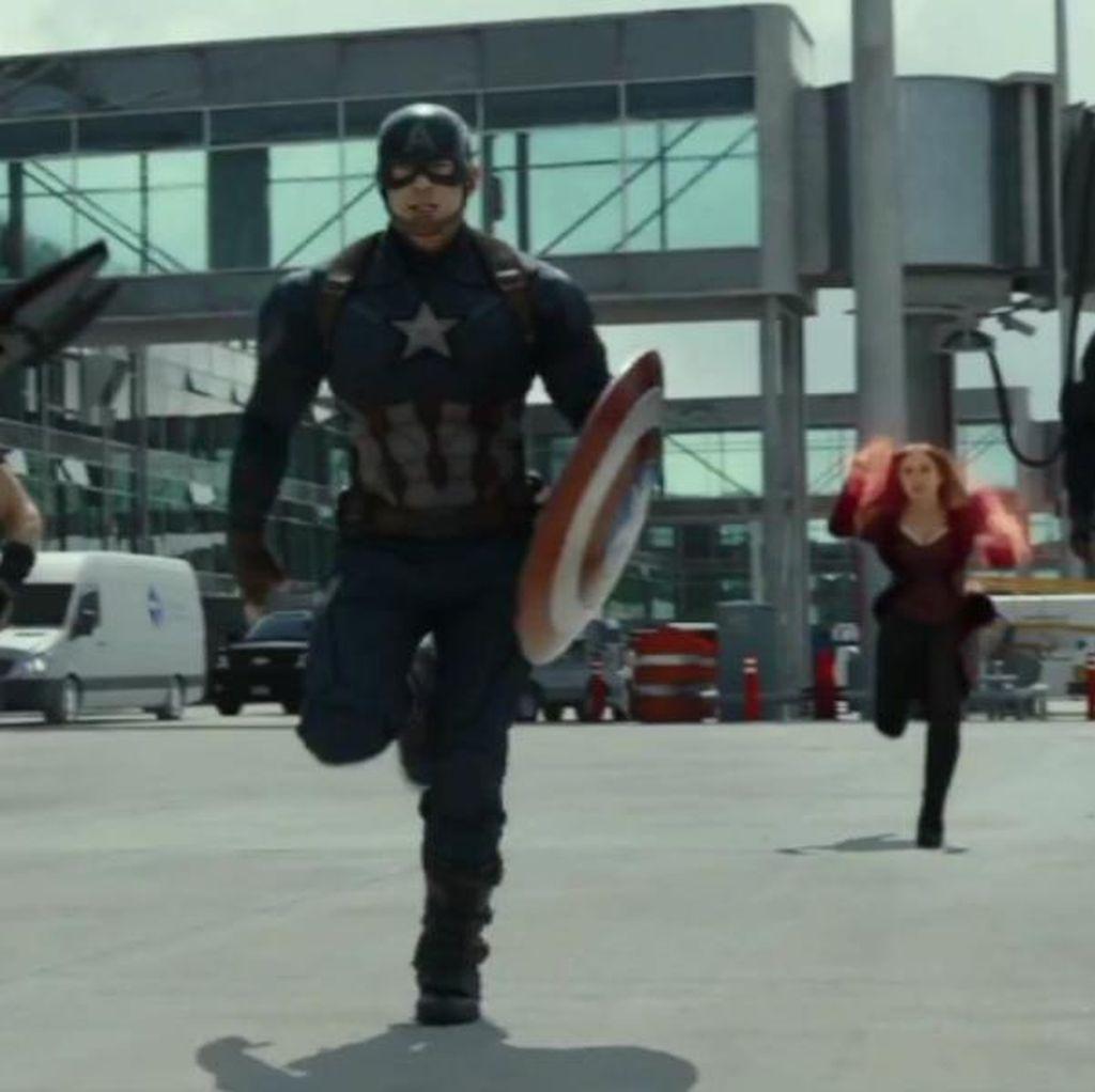 Siap Nobar Captain America: Civil War Hari Ini?