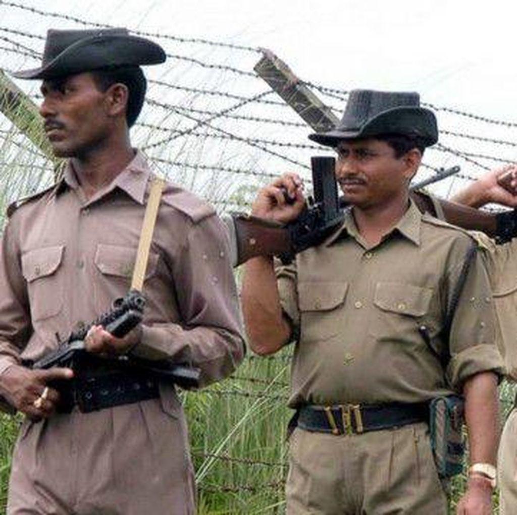 India Pasang Dinding Laser di Perbatasan dengan Pakistan