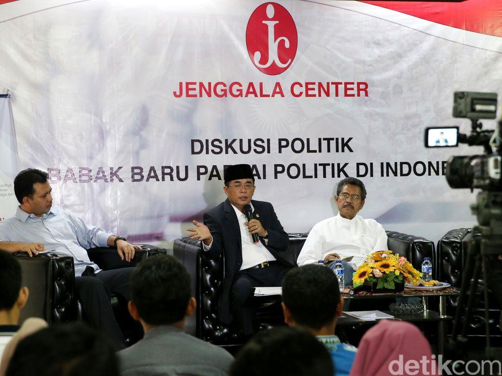Akom: Kalau PDIP Punya Bung Karno, Golkar Punya Pak Harto