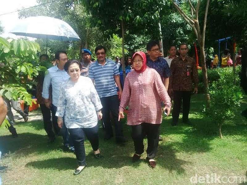 Usung Risma ke Pilgub DKI? Ini Jawaban Megawati