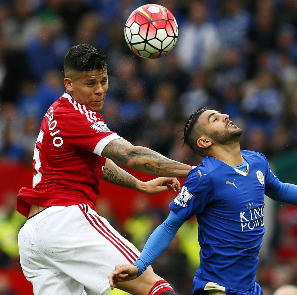 MU vs Leicester Berakhir Imbang