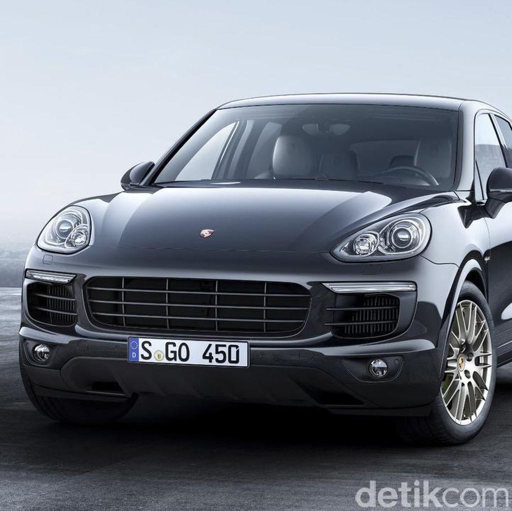 Porsche Luncurkan Cayenne Platinum Edition
